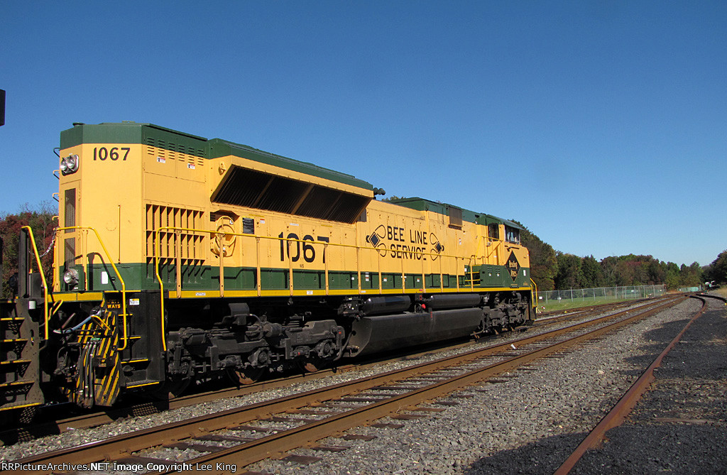 Reading Heritage SD70ACe NS 1067